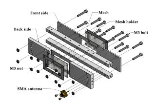 Mark 5 waveguide CAD design